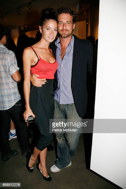 Giada Lubomirski and Alexi Lubomirski attend SAM HASKINS Fashion Etcetera at Milk Studios Gallery on September 24 2009 in New York City