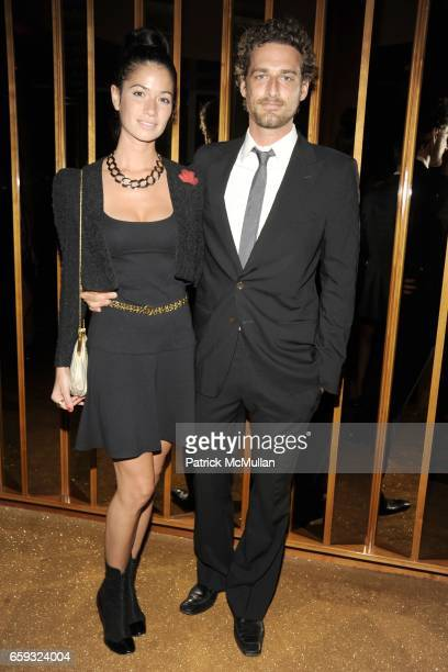 Giada Lubomirski and Alexi Lubomirski attend the Dior Beauty Party to Celebrate the 10th Anniversary of J'Adore at the Boom Boom Room on September 23...