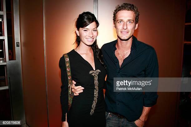 Giada Torri and Alexi Lubomirski attend PRADA Presents 'Fallen Shadows' at Prada Epicenter on September 9 2008 in New York City
