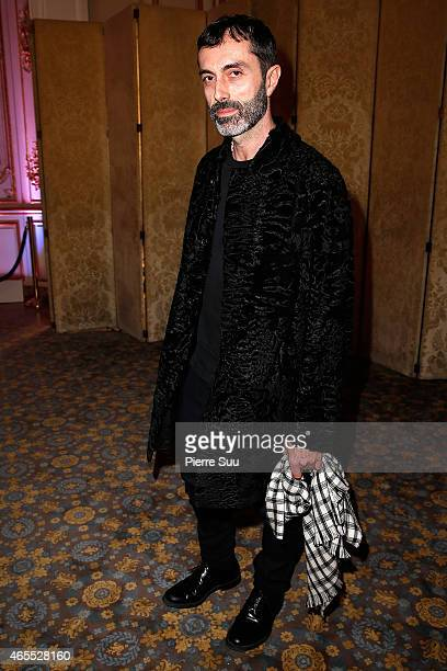 Giambatista Valli attends the T The New York Times Style Magazine Party as part of the Paris Fashion Week Womenswear Fall/Winter 2015/2016 on March 7...