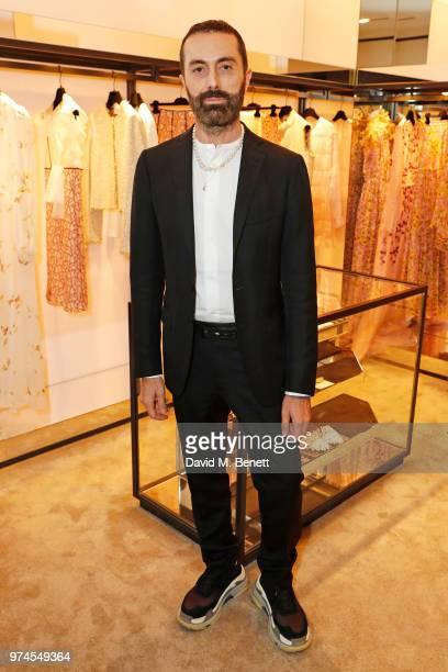 Giambattista Valli attends the Giambattista Valli London store opening on Sloane Street on June 14 2018 in London England