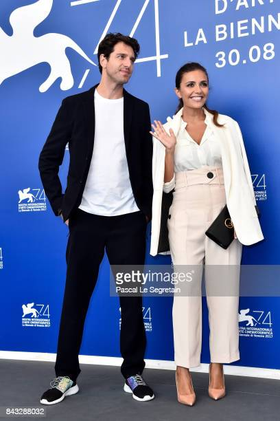 Giampaolo Morelli and Serena Rossi attend the 'Ammore E Malavita' photocall during the 74th Venice Film Festival on September 6 2017 in Venice Italy