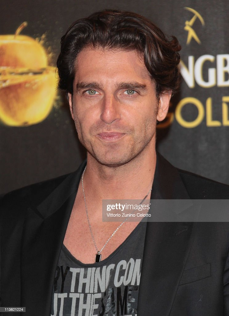 Giampaolo Morelli attends 'The Gold Experience' red carpet on May 6, 2011 in Milan, Italy.