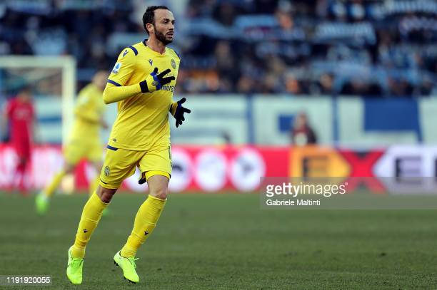 Giampaolo Pazzini of Hellas Verona in action during the Serie A match between SPAL and Hellas Verona at Stadio Paolo Mazza on January 5 2020 in...