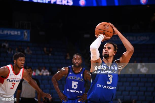 Gian Clavell of the Texas Legends against the Agua Caliente Clippers of Ontario on November 10 2017 at Citizens Business Bank Arena in Ontario...