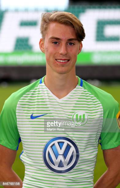 Gian Luca Itter of VfL Wolfsburg poses during the team presentation at on September 13 2017 in Wolfsburg Germany