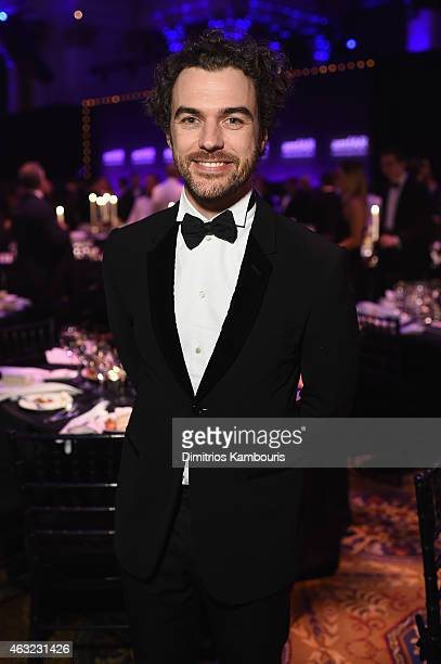 Gian Luca Passi de Preposulo attends the 2015 amfAR New York Gala at Cipriani Wall Street on February 11 2015 in New York City
