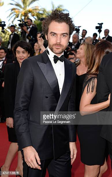 Gian Luca Passi de Preposulo attends the Premiere of Youth during the 68th annual Cannes Film Festival on May 20 2015 in Cannes France