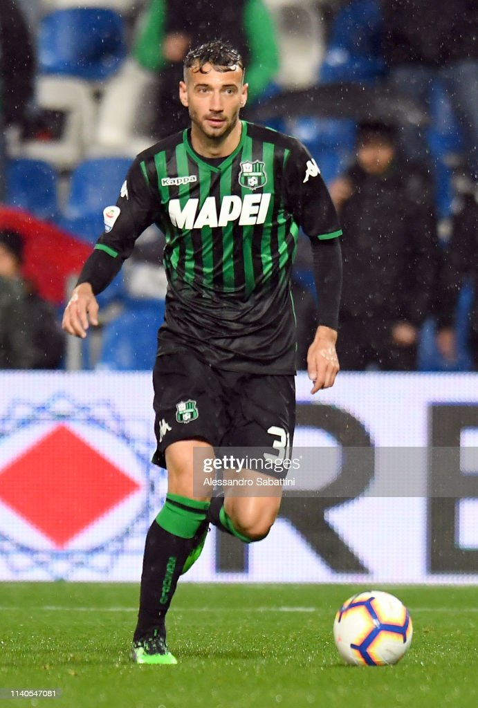 Gian Marco Ferrari Of Sassuolo In Action During The Serie A Match News Photo Getty Images