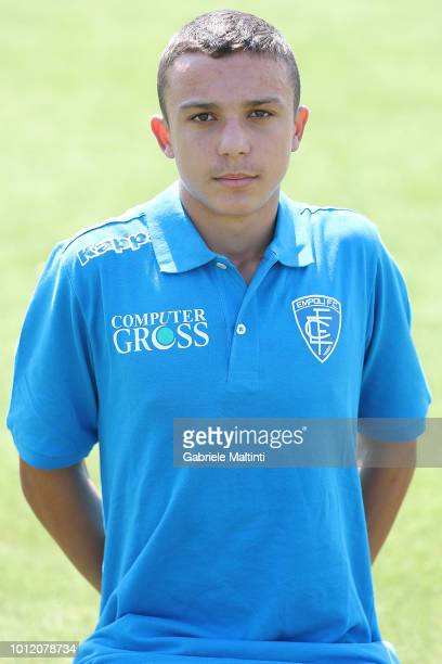 Gian Marco Tognetti of Empoli FC U16 on August 6 2018 in Empoli Italy