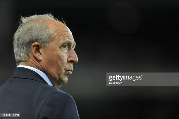 Gian Piero Ventura the Italy team coach during the warm-up before the match valid for Qualifying Round of Fifa World Cup Russia 2018 between Italy -...