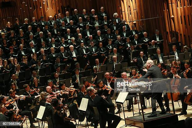 Gianandrea Noseda conducts the London Symphony Orchestra in a performance of the Verdi Requiem with a cast of Italian opera stars with the London...