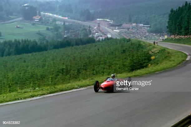 Giancarlo Baghetti Ferrari 156 Grand Prix of Belgium Circuit de SpaFrancorchamps 17 June 1962