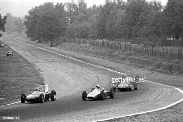 Giancarlo Baghetti Jo Bonnier Ricardo Rodriguez Willy Mairesse Ferrari 156 Grand Prix of Italy Autodromo Nazionale Monza 16 September 1962