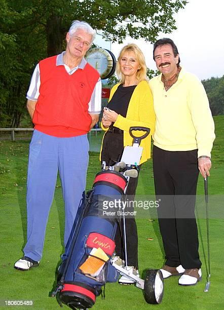 Giancarlo Carlo Salvia Lebensgefährtin Cindy Berger Hans Werner Bad Kreuznach Golfplatz Sängerin Golftasche Freundin
