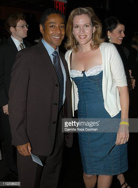 Giancarlo Esposito and Catherine Dent during Allied Domecq Sponsors The Creative Coalition RNC Event at Spirit at Spirit in New York City New York...