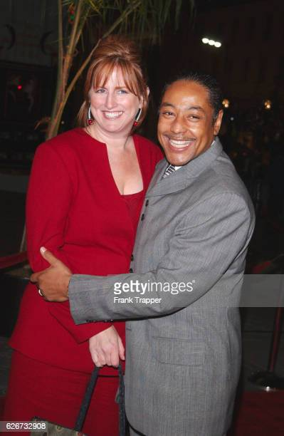 Giancarlo Esposito and his wife Joy McManigal arrive at the premiere of Ali