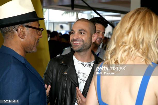 Giancarlo Esposito and Michael Mando of 'Better Call Saul' attends the 2018 WIRED Cafe at Comic Con presented by ATT Audience Network at Omni Hotel...