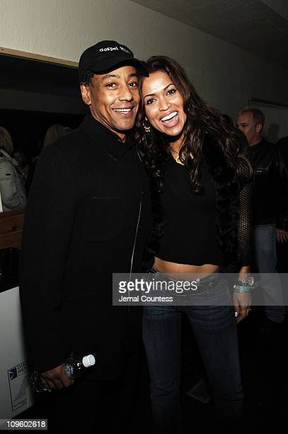 Giancarlo Esposito and Tracey Edmonds during 2006 Park City Motorola/UbiSoft Late Night Lounge at 515 Main Street in Park City Utah United States