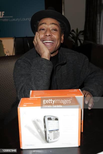 Giancarlo Esposito at the BlackBerry 8700c Self Magazine Lounge