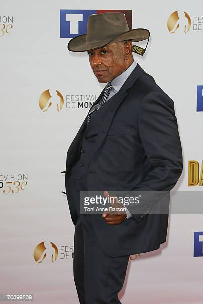 Giancarlo Esposito attends Dallas Party at the Monte Carlo Bay Hotel on June 12 2013 in MonteCarlo Monaco