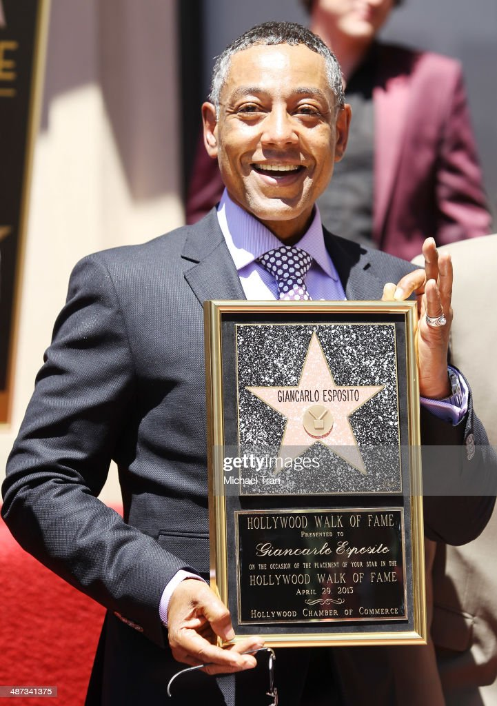 Giancarlo Esposito Honored With Star On The Hollywood Walk Of Fame : Foto jornalística