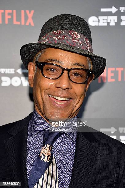 Giancarlo Esposito attends The Get Down New York premiere at Lehman Center For The Performing Arts on August 11 2016 in the Bronx borough of New York...