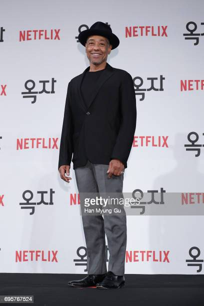 Giancarlo Esposito attends the 'Okja' press conference on June 14 2017 in Seoul South Korea