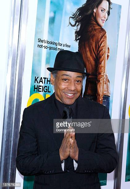 Giancarlo Esposito attends the One for the Money premiere at the AMC Loews Lincoln Square on January 24 2012 in New York City