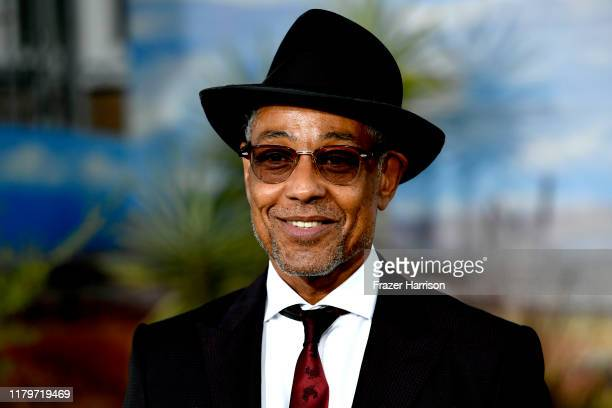 """Giancarlo Esposito attends the Premiere Of Netflix's """"El Camino: A Breaking Bad Movie"""" at Regency Village Theatre on October 07, 2019 in Westwood,..."""