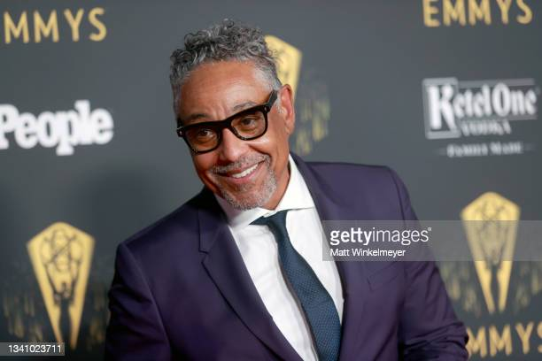 Giancarlo Esposito attends the Television Academy's Reception to Honor 73rd Emmy Award Nominees at Television Academy on September 17, 2021 in Los...