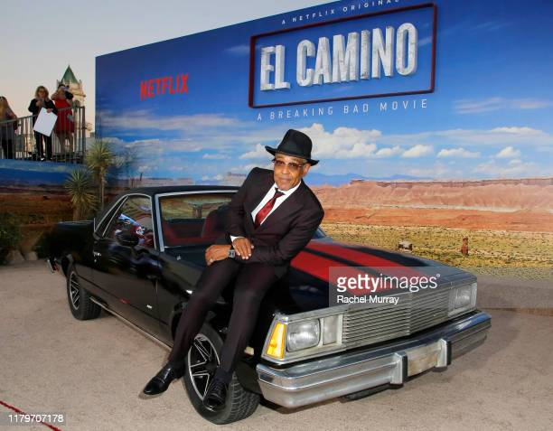 Giancarlo Esposito attends the World Premiere of El Camino A Breaking Bad Movie at the Regency Village on October 07 2019 in Los Angeles California