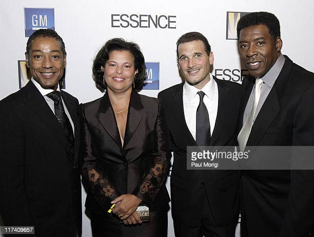 Giancarlo Esposito Debra Lee Phillip Bloch and Ernie Hudson