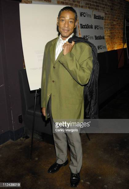Giancarlo Esposito during Sherrybaby New York Premiere at IFC Theater in New York City New York United States