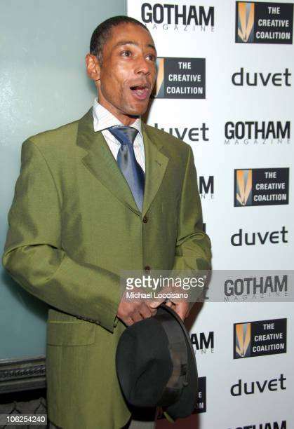 Giancarlo Esposito during The Creative Coalition Gala Hosted by Gotham Magazine December 18 2006 in New York City New York United States