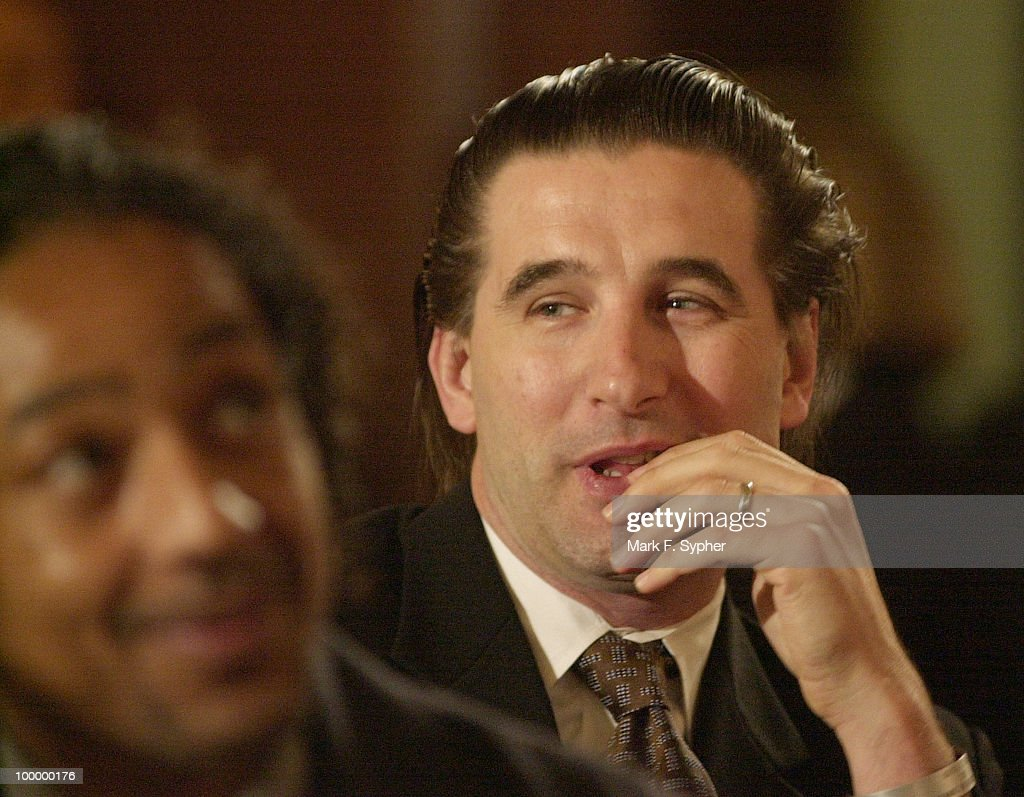 Giancarlo Esposito joined William Baldwin at The Coaleition Arts Advocacy Day Delegation on Tuesday in the Cannon Caucus Room.