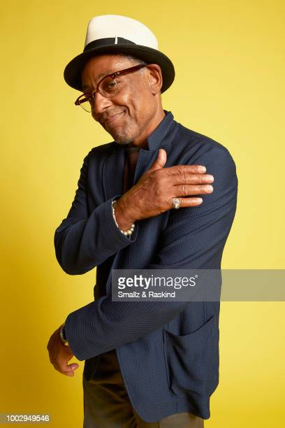 Giancarlo Esposito poses for a portrait at the Getty Images Portrait Studio powered by Pizza Hut at San Diego 2018 Comic Con at Andaz San Diego on...