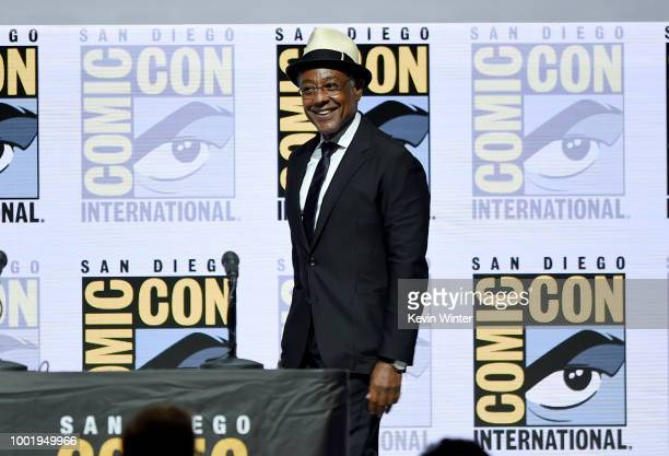 Giancarlo Esposito walks onstage during the AMC's Better Call Saul during ComicCon International 2018 at San Diego Convention Center on July 19 2018...