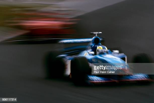 Giancarlo Fisichella, Benetton-Playlife B198, Grand Prix of Canada, Circuit Gilles Villeneuve, 07 June 1998.