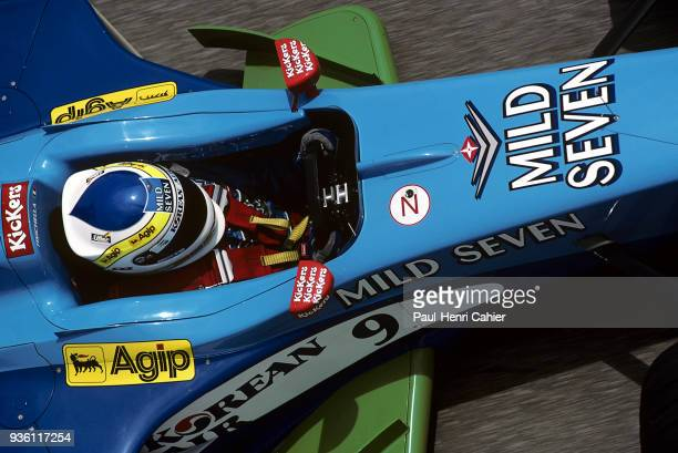 Giancarlo Fisichella, Benetton-Playlife B199, Grand Prix of Spain, Circuit de Barcelona-Catalunya, 30 May 1999.