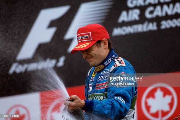 Giancarlo Fisichella, Benetton-Playlife B200, Grand Prix of Canada, Circuit Gilles Villeneuve, 18 June 2000.