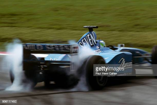 Giancarlo Fisichella, Benetton-Playlife B200, Grand Prix of Malaysia, Sepang International Circuit, 22 October 2000.