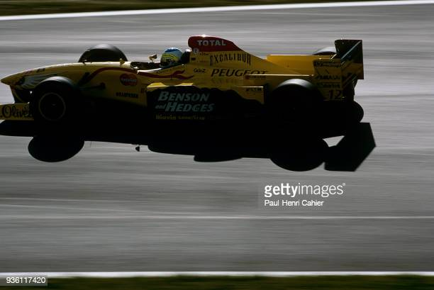 Giancarlo Fisichella, Jordan-Peugeot 197, Grand Prix of Austria, Red Bull Ring, 21 September 1997.