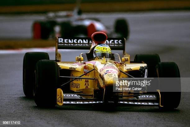 Giancarlo Fisichella, Jordan-Peugeot 197, Grand Prix of Belgium, Circuit de Spa-Francorchamps, 24 August 1997.