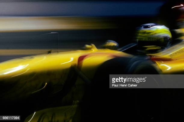 Giancarlo Fisichella, Jordan-Peugeot 197, Grand Prix of Brazil, Autodromo Jose Carlos Pace, Interlagos, Sao Paolo, 30 March 1997.