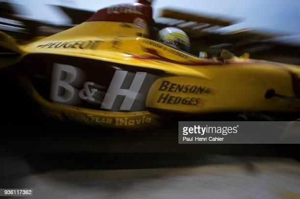 Giancarlo Fisichella JordanPeugeot 197 Grand Prix of San Marino Autodromo Enzo e Dino Ferrari Imola 27 April 1997