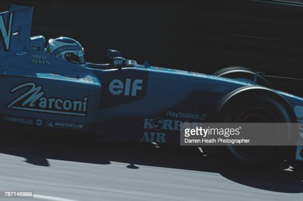 Giancarlo Fisichella of Italy drives the Mild Seven Benetton Renault Benetton B201 Renault RS21 V10 during the Formula One Australian Grand Prix on 4...