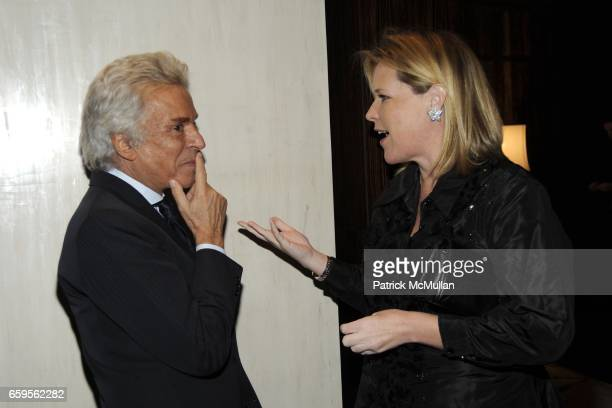 Giancarlo Giammetti and Marjorie Gubelmann attend Gwyneth Paltrow and VBH's Bruce Hoeksema Host Cocktail Party for Valentino The Last Emperor at VBH...