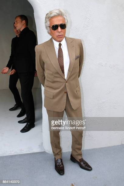 Giancarlo Giammetti attends the Christian Dior show as part of the Paris Fashion Week Womenswear Spring/Summer 2018 on September 26 2017 in Paris...