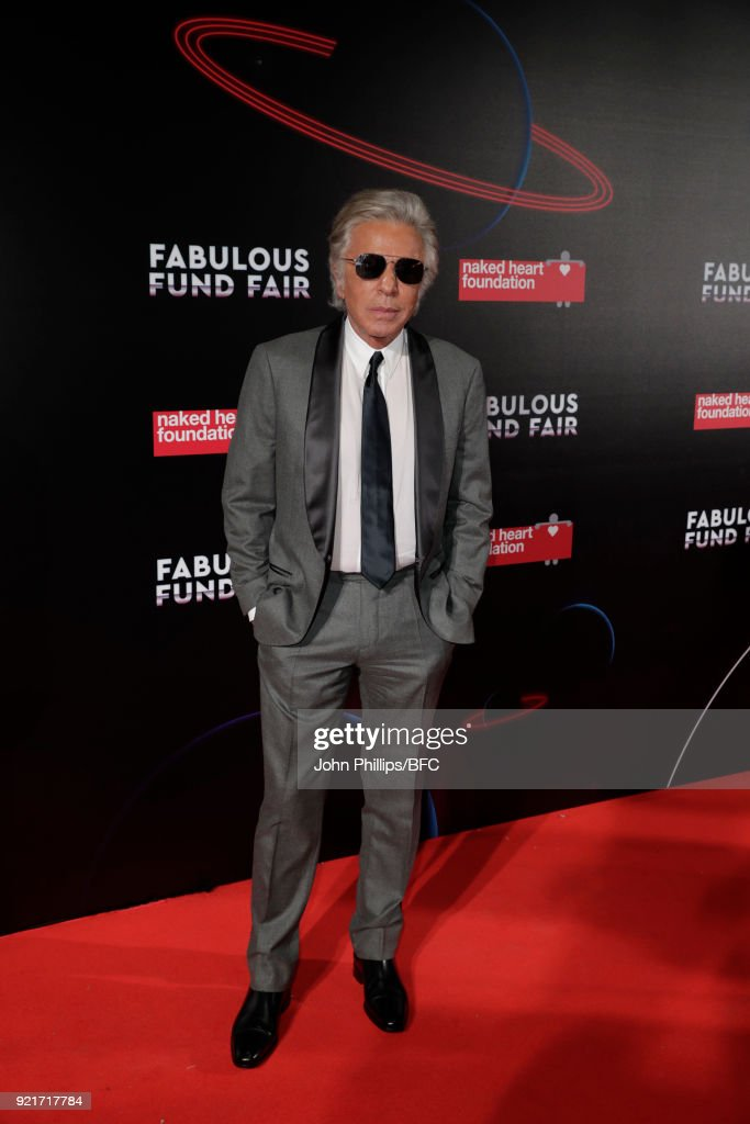 Giancarlo Giammetti attends the Naked Heart Foundation's Fabulous Fund Fair during London Fashion Week February 2018 at The Roundhouse on February 20, 2018 in London, England.